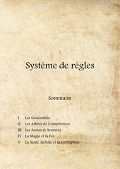 systeme de regles