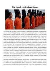 Fichier PDF the harsh truth about islam our end is near