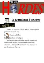 Fichier PDF tourniquet