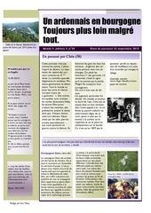 un ardennais en bourgogne journal mensuel septembre 2015