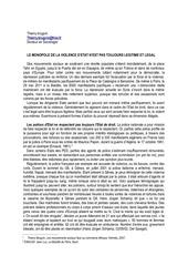 201106 le monopole de la violence d etat
