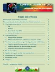 2014 2015 rapport d activites toxico