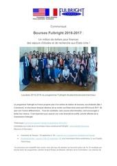 bourses fulbright 2016 2017