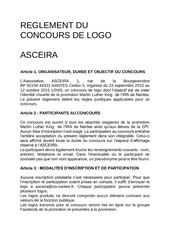 Fichier PDF concours de logo