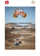 dossier sponsoring 4l trophy 2016