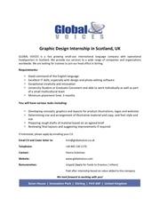 Fichier PDF graphic design internship