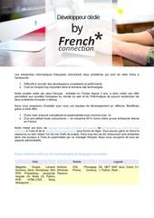 Fichier PDF offre developpeur dedie