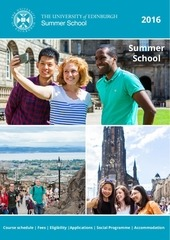 summer school university of edinburgh 2016
