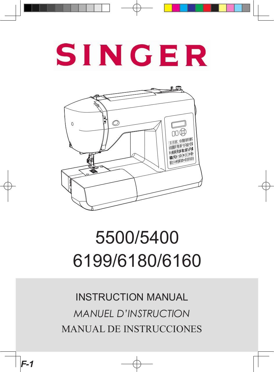 SINGER 6160 BRILLANCE - Fichier PDF