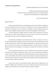 lettre condorcer