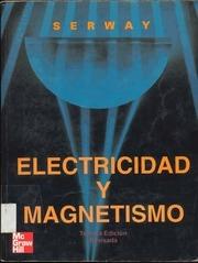 serway electricidad y magnetismo