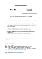 Fichier PDF communique de presse mediavb lm la pub