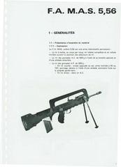 famas f1 manual french