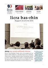 licra bas rhin rapport d activite 2014
