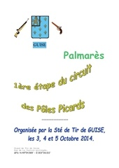 palmares concours 10m guise oct 2014