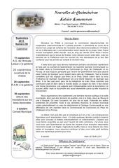 bulletin communal 95
