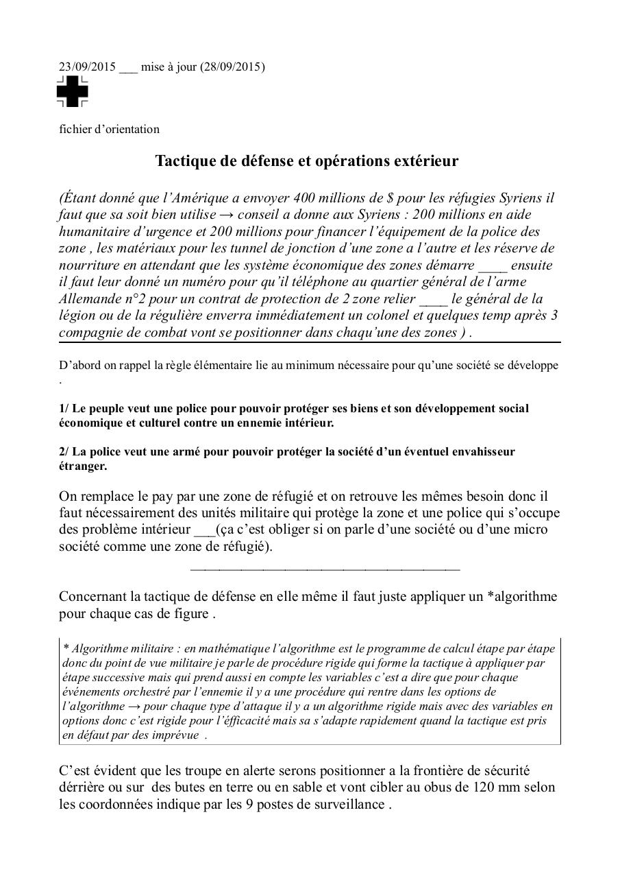 Aperçu du document Tactique de défefense de la zone.pdf - page 1/10