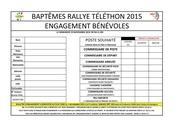 engagement bEnEvoles 2015