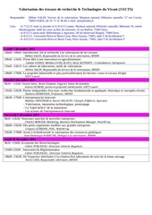 programme valorisation 2015