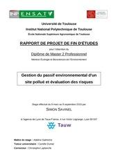 savinel 2015 rapport stage ssp