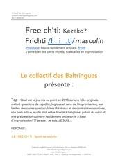 dossier de presentation free ch ti