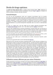 Fichier PDF droits de tirage speciaux