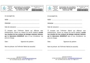 formulaire d autorisation de consultation des resultats