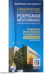 inauguration crr perpignan programme