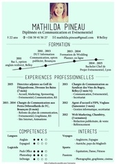 cv pineau mathilda