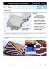 Fichier PDF d7 couverture de chaume pays portugal