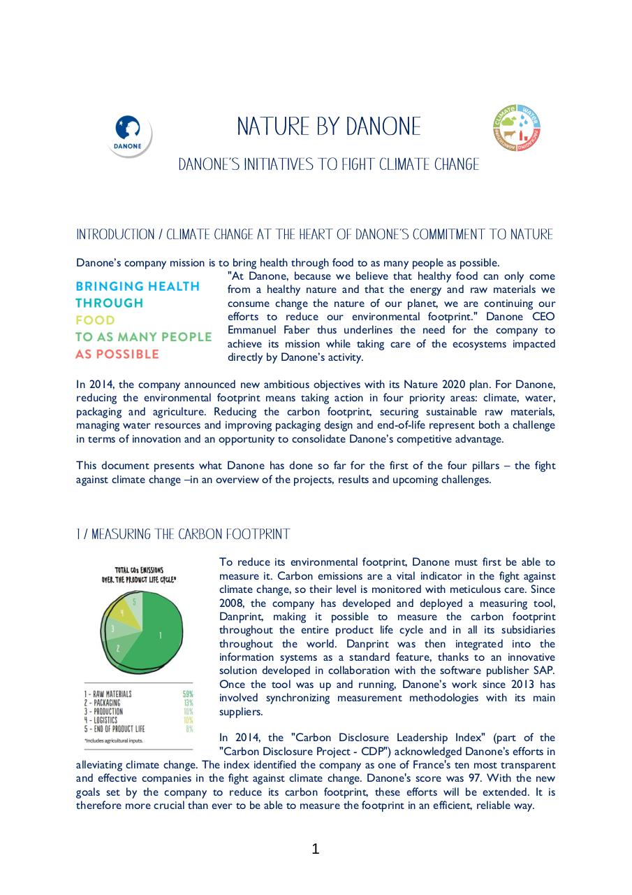 Danone's initiatives to fight climate change.pdf - page 1/4