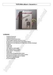 909 2 tuto mini album marina
