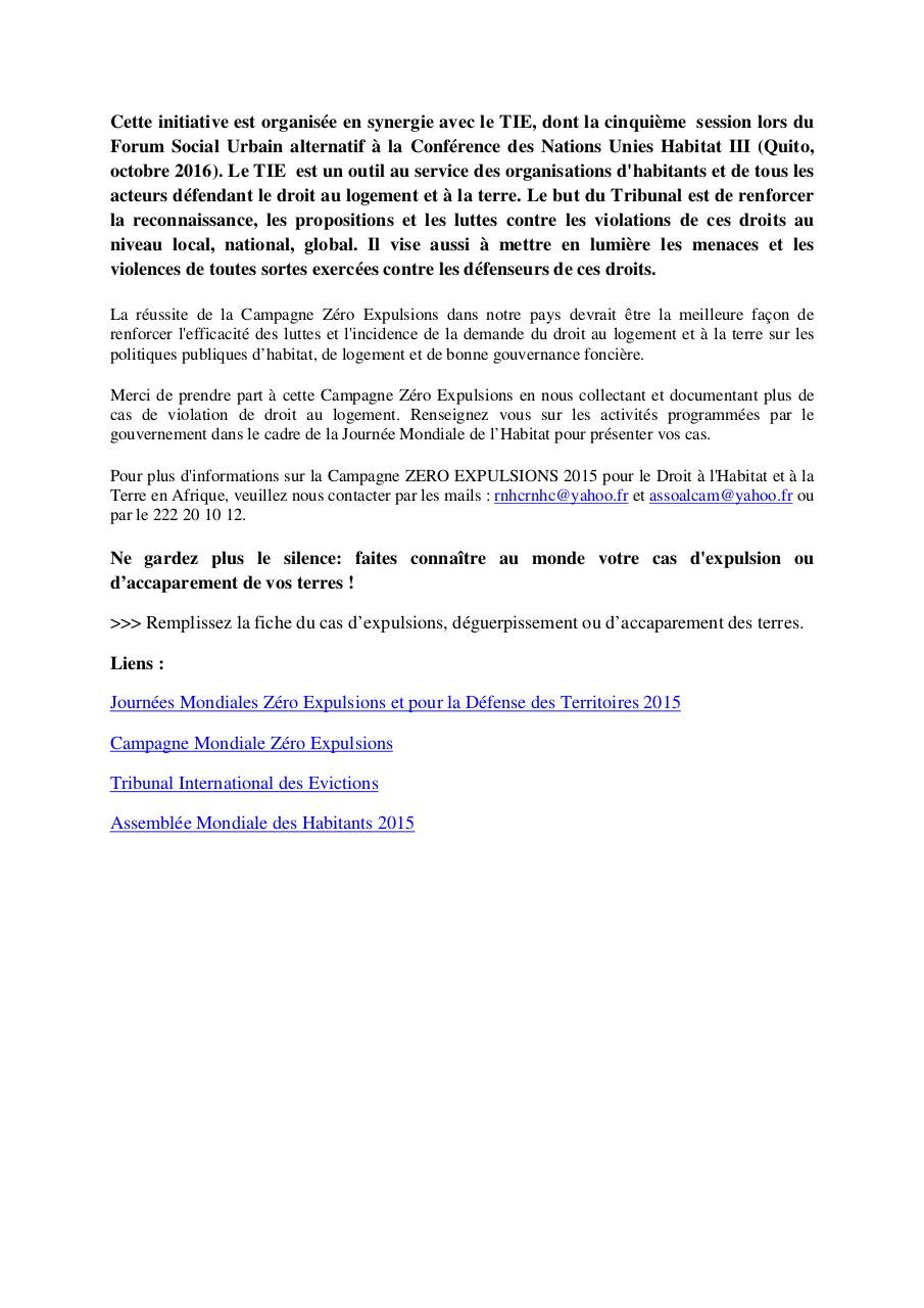 Appel à participation Campagne Zero Eviction.pdf - page 2/2