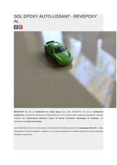 sol epoxy auto