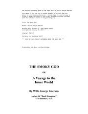 Fichier PDF the smokey god