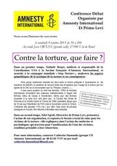 Fichier PDF contre la torture 9 10 15