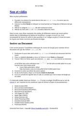 Fichier PDF sonvideo