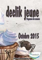 programme octobre 2015