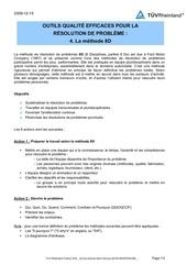 4 la methode 8d