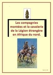 compagnies montees et cavalerie de la legion etrangere