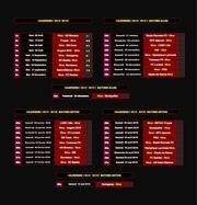 calendrier officiel 2015 2016