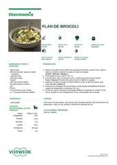 flan de brocoli
