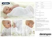 patons royal baby dress pattern update