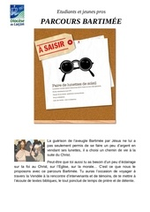 tract 2015 2016 parcours bartime e