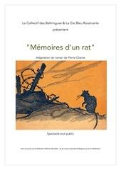 dossier de presentation memoires d un rat