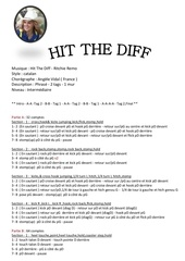 Fichier PDF hit the diff