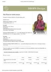 ibis rose drops 156 41 by drops design