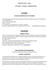agenda 2015 2016