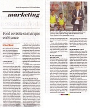 article les echos marketing ford 10 septembre 2015 2