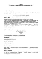 dpbge statuts 24 oct 2015